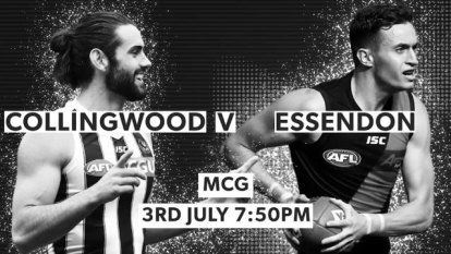 Both the Pies and the Bombers will be without key midfield men when they meet at the MCG in a Friday night thriller.