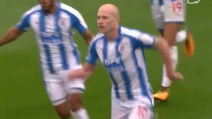 Aaron Mooy's special goal against Manchester United