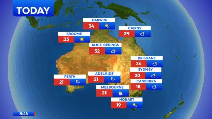 National weather forecast for Tuesday, September 29