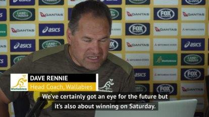 @wallabies Head Coach Dave Rennie has full faith in his young squad ahead of #BledisloeCup