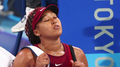 Naomi Osaka, Japan's great hope for tennis gold, lost in the third round of the Tokyo Olympics, saying she had not known how to cope with the pressure of the occasion.