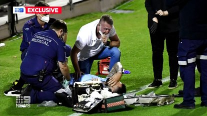 NRL star Andrew Fifita has revealed he messaged his wife from the back of an ambulance because he thought he was going to die.