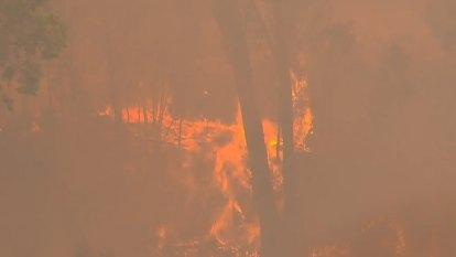 Bushfire update from RFS headquarters