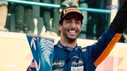 How Ricciardo ranks Monza victory among career wins