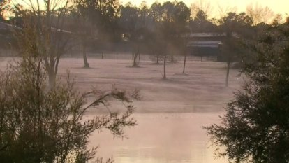 Queensland's south-east hit with frosty temperatures