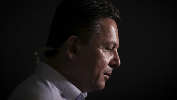 Thrashed and unemployed: where it all went wrong for Nick Xenophon