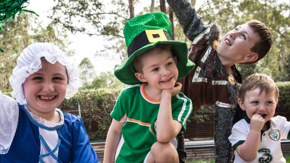 St Patrick's day celebrations to turn Moore Park into the 'green quarter'