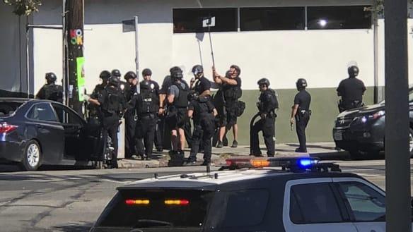 Gunman arrested at LA supermarket after taking hostages