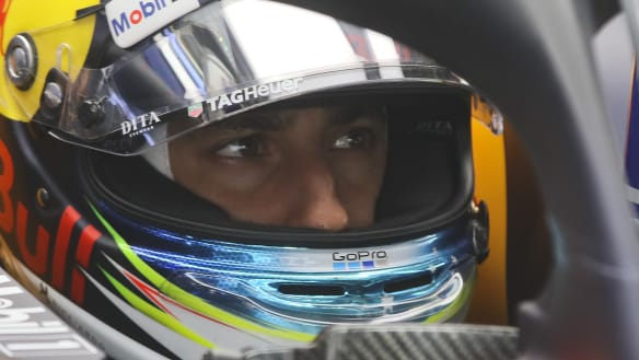 First in practice, but Ricciardo to start at back of grid for German GP