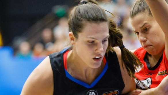 Capitals pair developing sturdy partnership ahead of WNBL season