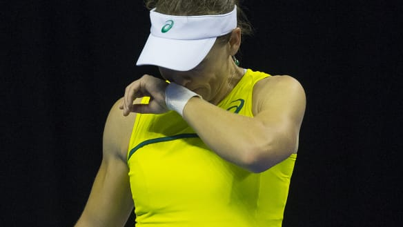 Fed Cup: 'I'll bounce back' vows Sam Stosur after shock loss