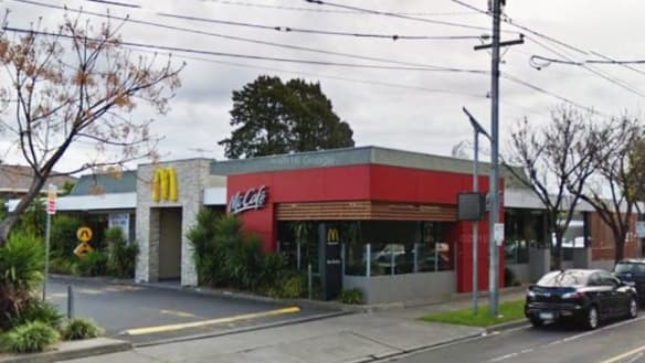 Gang armed with garden stakes storm McDonald's