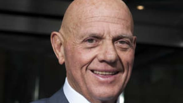 Myer boss Garry Hounsell 'discredited', says Lew