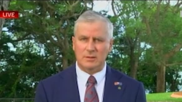 Why Michael McCormack's bet each way threatens to skewer his credibility