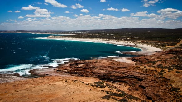 'Little Red Rooster' boat helps rescue woman in Kalbarri waters