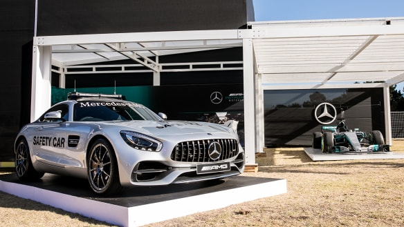 Marquees go high-tech and luxury at the Australian Grand Prix