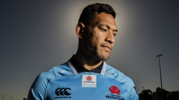 Troubled waters and beyond: how Folau put the drama behind him