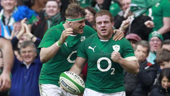 Ireland brush off injury speculation, talk up Wallabies 'fear factor'