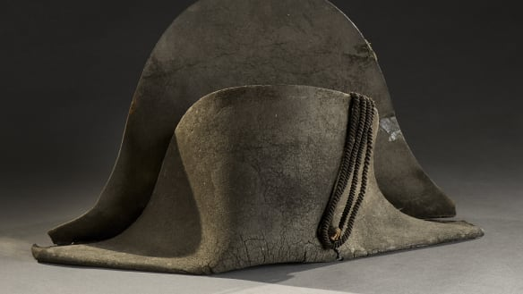 The hat Napoleon dropped at Waterloo, picked up for a small fortune