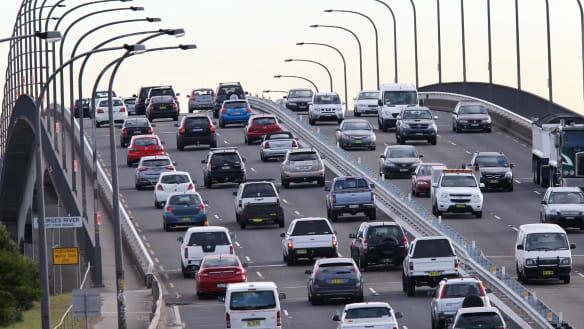 Bridge bottlenecks driving congestion woes on roads into Sydney