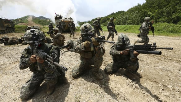 US indefinitely suspends some more training exercises with S.Korea