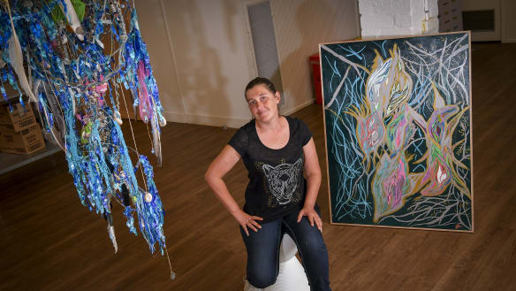 Melbourne homeless bare their art and soul at exhibition and silent auction