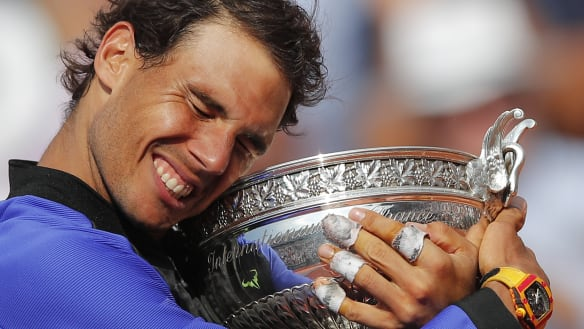 Feats on clay: Nadal's sheer and utter domination on the red stuff