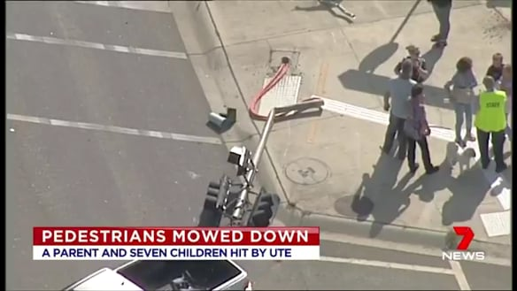 Alleged hit-run driver faces dozens of charges after children mown down