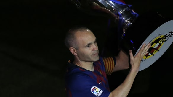 Iniesta set to team up with Podolski in the J-League: reports