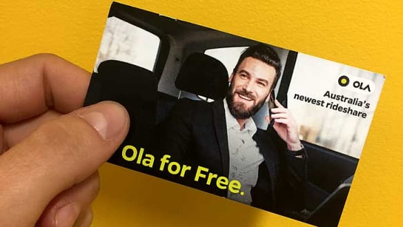 Perth Uber drivers poaching customers to new ride-share Ola