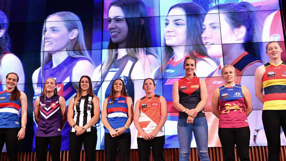 Cats enjoy the AFLW draft cream