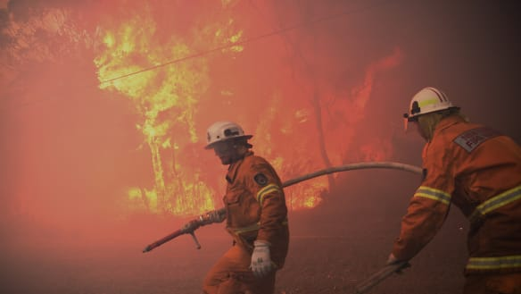 Big dry prompts NSW authorities to expand early start to fire season