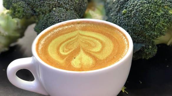 'Peak hipster' broccoli latte is actually a fantastic idea