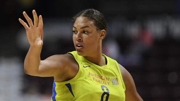 Liz Cambage sets WNBA record with 53-point game
