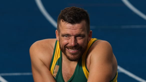 'Won't go quietly': Athlete Kurt Fearnley hits out at government's reversal on disability funding