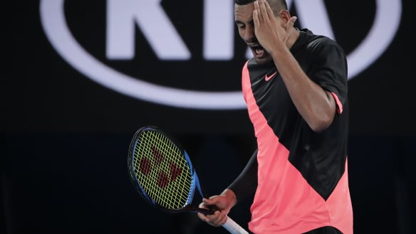Kyrgios in a fight to prove his French Open fitness