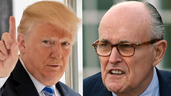 Trump says Giuliani misspoke, needs to 'get facts straight' on Stormy