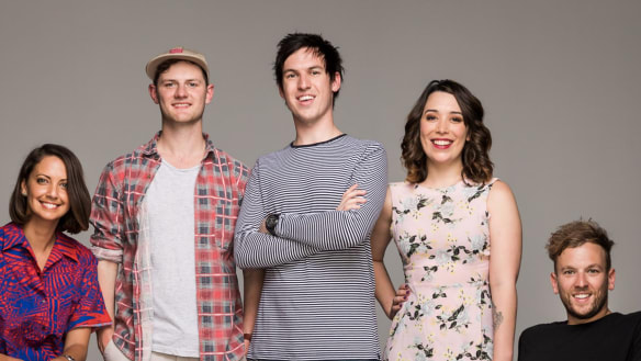 Triple J broadcasters imagine what ABC would sound like if privatised