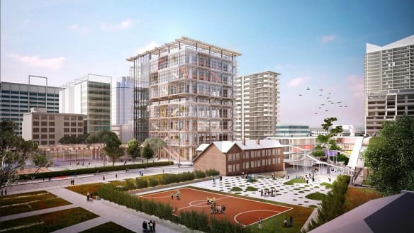 Budget delivers $121m for Sydney's new high-rise high school