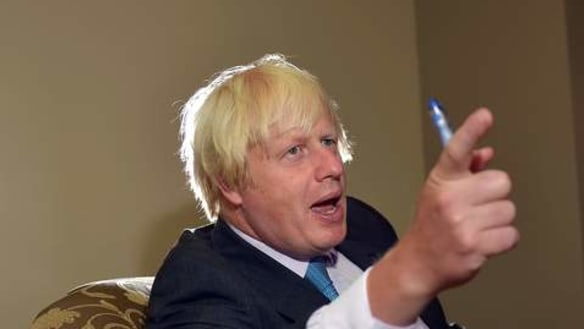 We're fed up with 'years of Russian vexation and provocation': Johnson