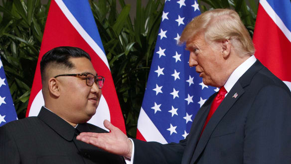 Don't kid yourself, Trump and Kim are up to no good
