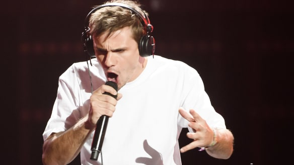 Controversial Voice sensation Sam Perry didn't think he would get picked