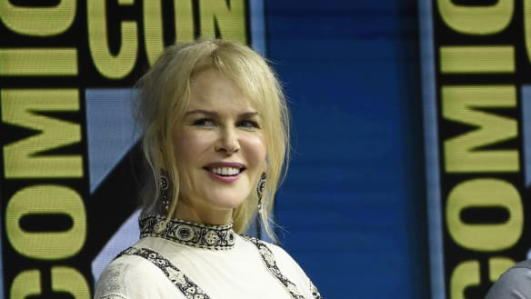 Nicole Kidman reigns for a day as queen of Comic-Con
