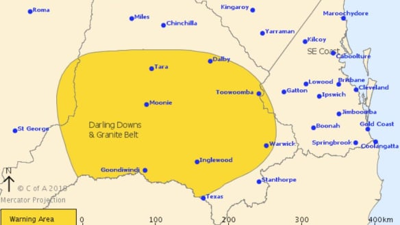 Storm threat eases in south-east Qld as rain records broken in north