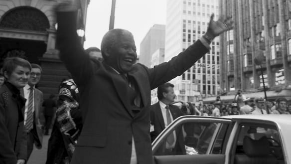 Flashback: Nelson Mandela's journey to President complete