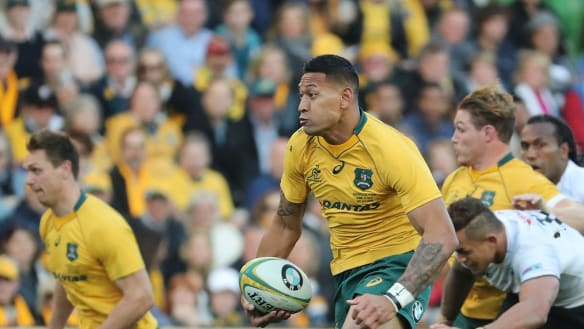 Wallabies will go head to head with Socceroos' World Cup opener