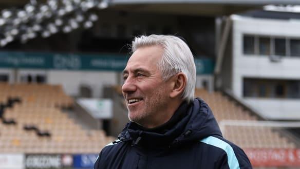 Time is the enemy for Socceroos coach Bert van Marwijk