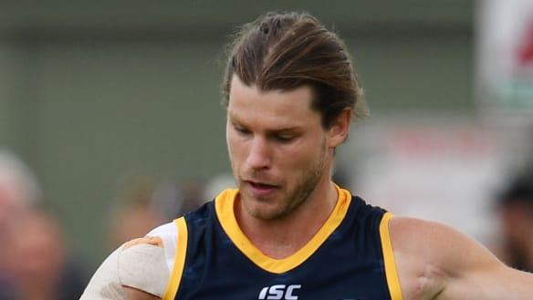 Gibbs stars as Crows pip Dockers in pre-season game