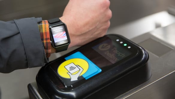 Time is near for Queenslanders to buy train ticket with a watch