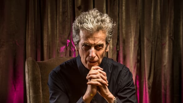 Peter Capaldi gets those mad Dr Who fans. After all, he used to be one